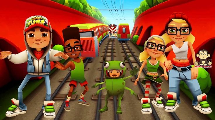 Subway Surfers FULL APK Games Free Download : Help Jake, Tricky & Fresh escape from the grumpy Inspector and his dog.