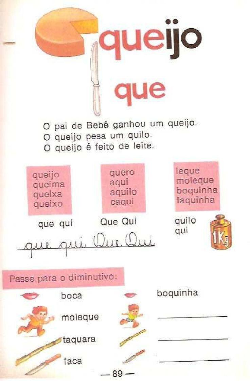 Cartilha de alfabetização Infantil Caminho Suave