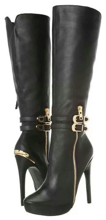 These boots aren't made for walking but they are gorgeous