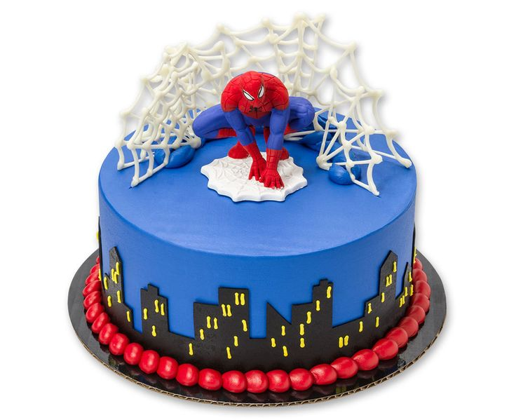 Spider-Man Gum Paste Figurine Cake Topper