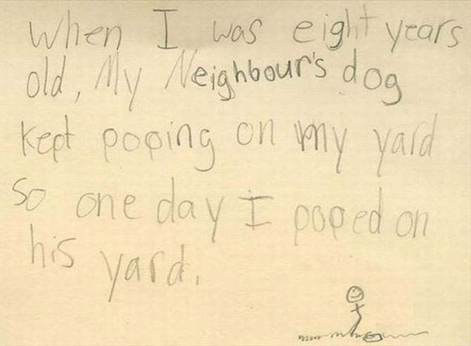 Funny Letters from Kids that'll Make Ya Spit Your Milk