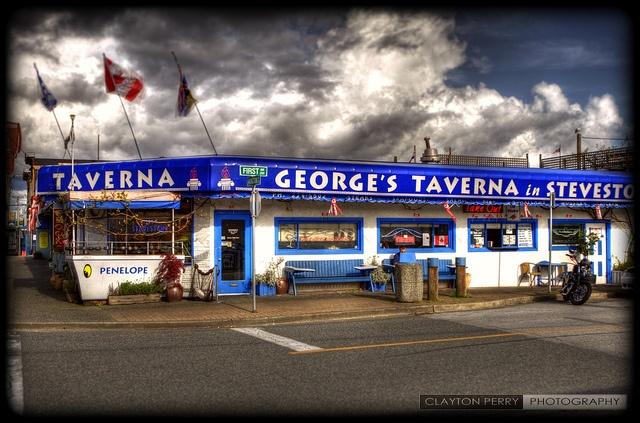 George's Taverna In Steveston by Clayton Perry Photoworks, via Flickr
