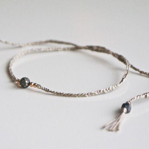 diamant silke armbånd/ diamond silk bracelet