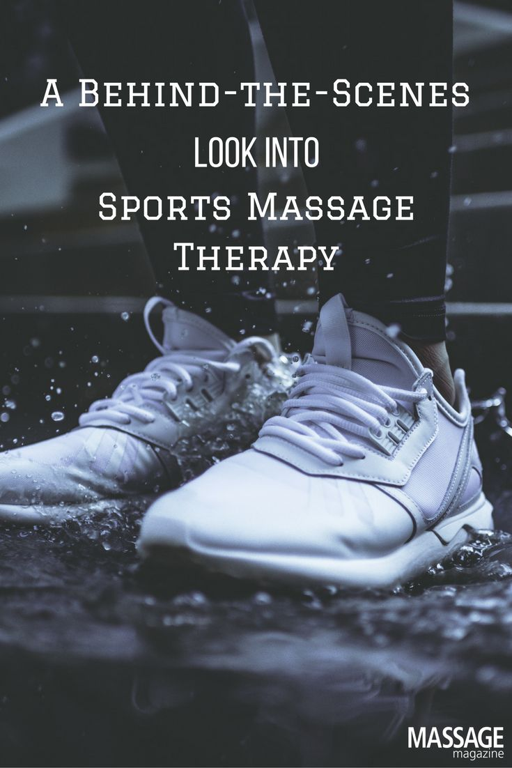 cover letter examples massage therapist%0A A BehindtheScenes Report on Sports Massage Therapy