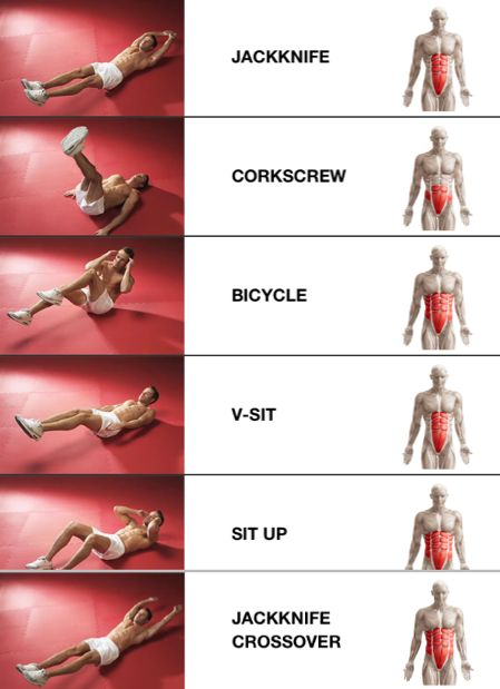 More ab workout moves