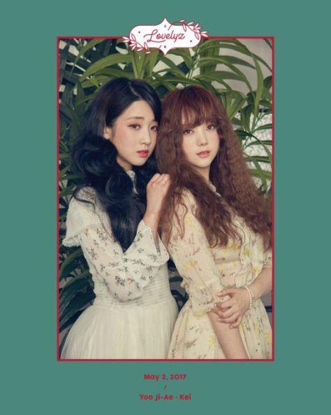 LOVELYZ Rilis Foto Teaser Individu Menampilkan Kei & Yoo Jiae | KoreanIndo