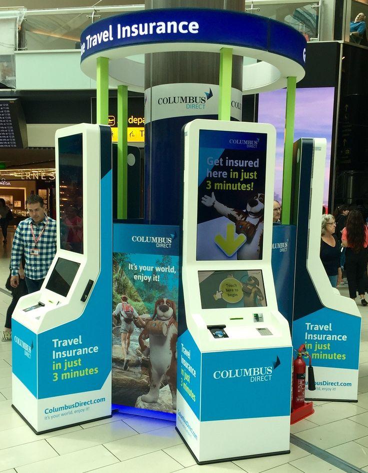 Columbus Direct Travel Insurance Kiosks