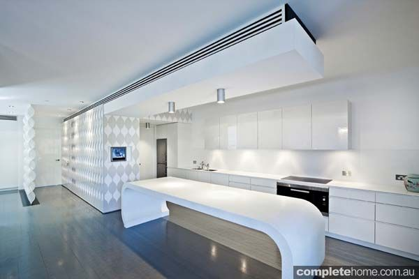 Image result for curved kitchen island