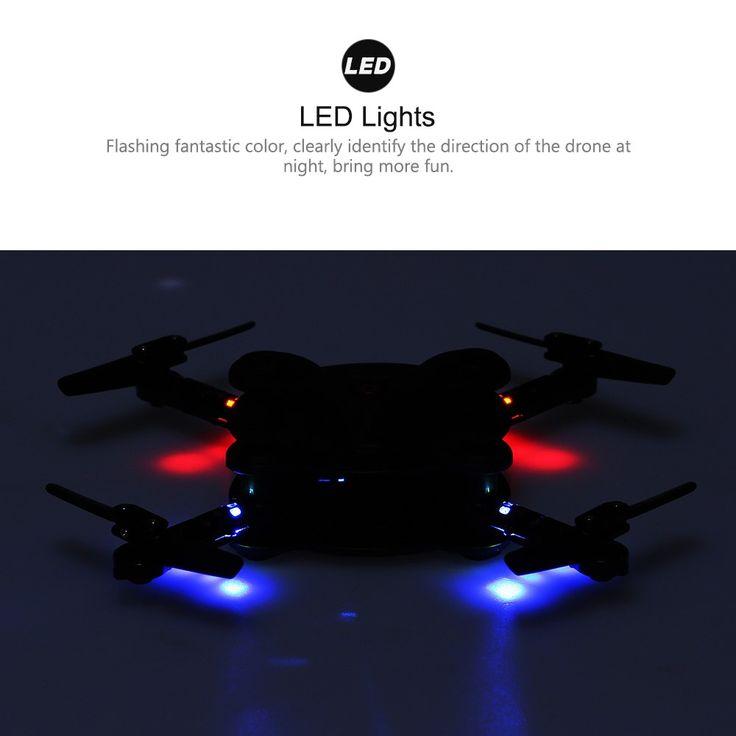 Only €33.83, black FQ777 FQ17W Mini Wifi FPV Drone Foldable Pocket RC Quadcopter - - Tomtop.com