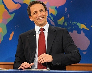 "Seth Meyers is leaving SNL!!!! NNOOOOO! But.. he's taking over ""Late Night"". Yay!..or Nay"