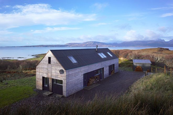 The Shed - Sleat: Roof Tile, Travel Magazines, Woods House, Google Search, Holidays Cottages, Wooden House, Corrugated Roof, Isle Of Skye, Islands Hotels