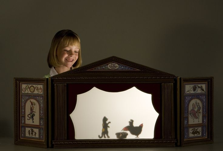 Shadow puppet theatre