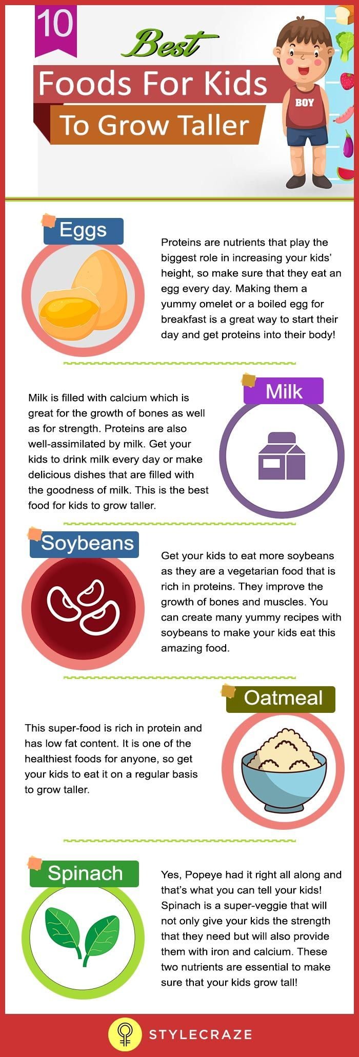 What Food Can Help You Grow Taller