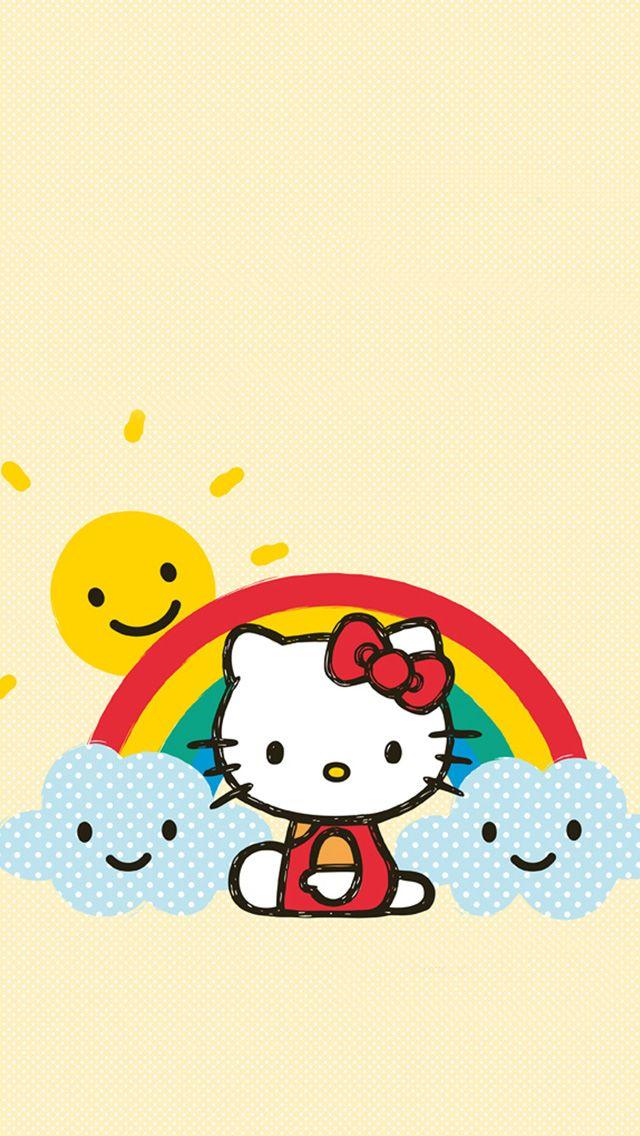 hello kitty wallpaper iphone Kitty wallpaper Pinterest