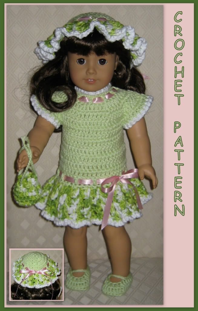 Free crochet patterns for 18 inch dolls details about for Pinterest dolls