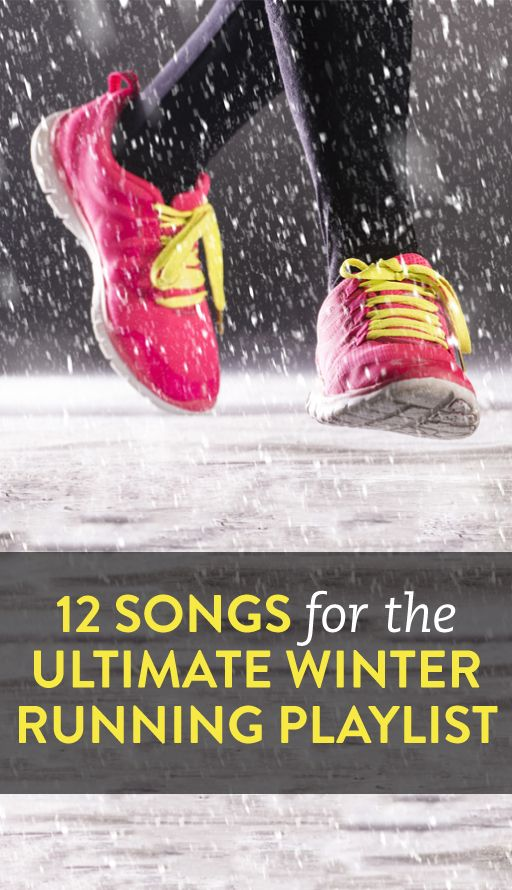 12 songs to amp up your cold weather run #ambassador