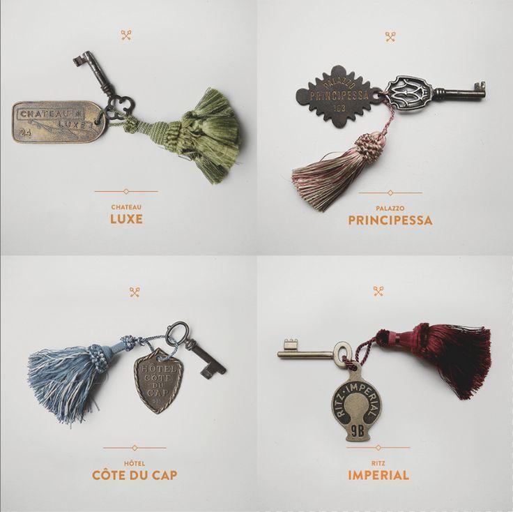 The Keys of Chateau Luxe, Palazzo Principessa, Hotel Cote du Cap & Ritz Imperial