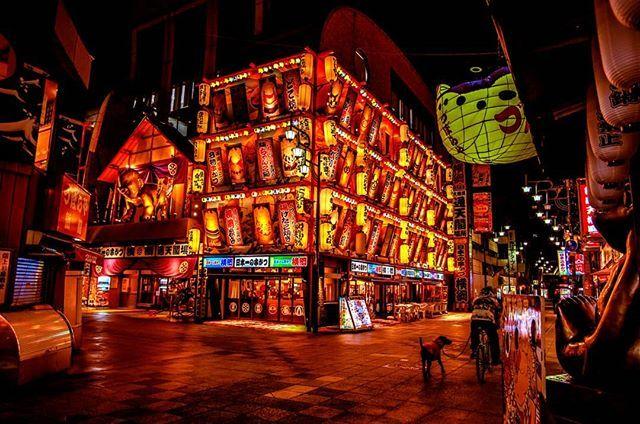 新世界ナイト 夜景 夜景ら部 夜景 光 カメラ部 関西 Pentax Pentaxで伝えたい私の世界 Nightview 新世界 Osaka 新世界 夜景 関西