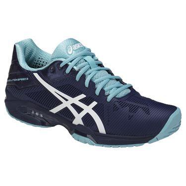 Asics Gel Solution Speed 3 Women's Tennis Shoe, in the new Indigo Blue  colorway,