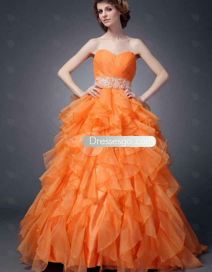 Fabulous robe de bal sweetheart Empire tour de taille de Maria robes de Quinceanera