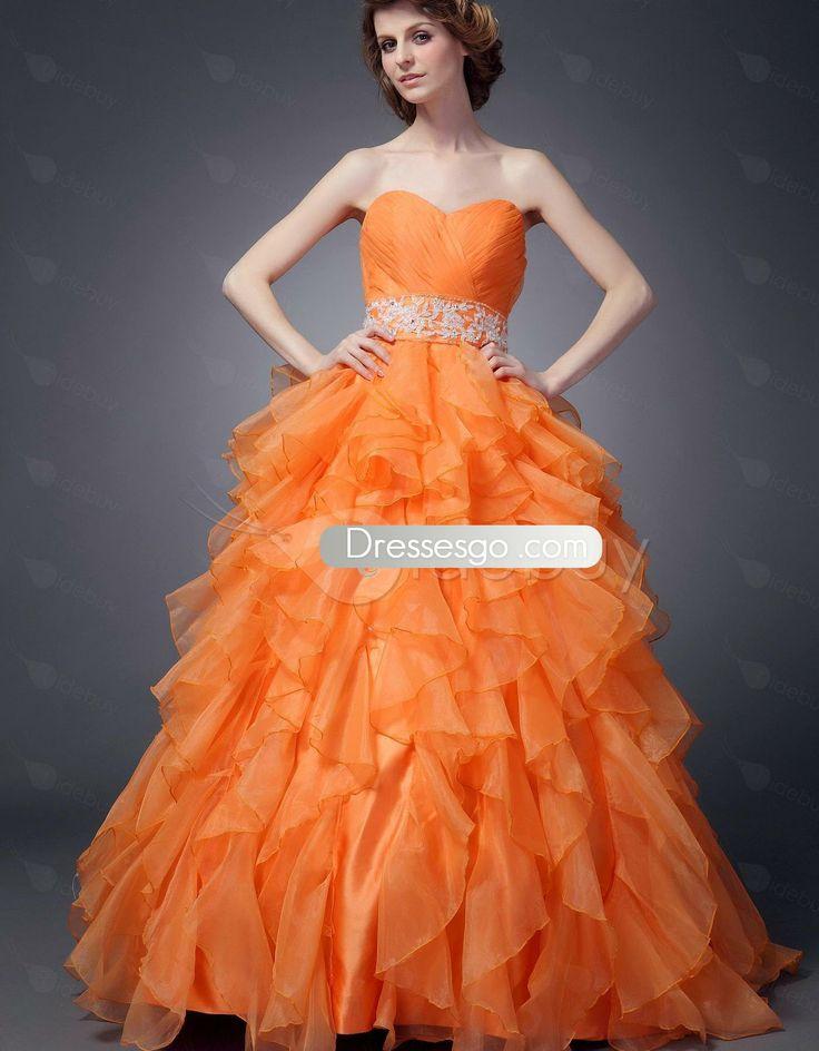 Fabulous robe de bal sweetheart Empire tour de taille de Maria robes de Quinceanera