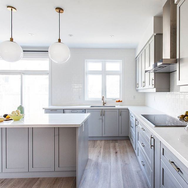 Shaker Style Countertops And Style On Pinterest: 103 Best Caesarstone 5141 Frosty Carrina Images On