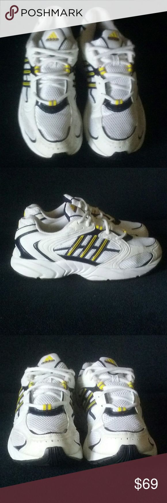 Adidas Men's Running Sneakers 8.5 NWT NWOT Men's Adidas Running Shoes Size: 8.5 Color: White   Mint condition. See photos. adidas Shoes Athletic Shoes