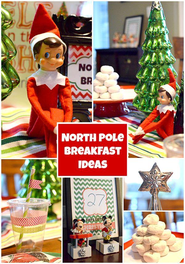 Elf on the Shelf Arrival Breakfast Ideas Elf on the