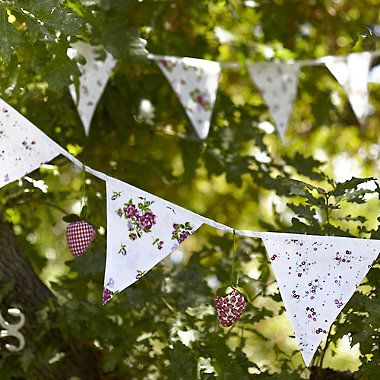 Cottage Garden Bunting - From Lakeland
