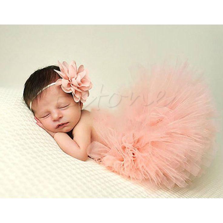 C$ 3.66 / Kit Pas cher Cute Toddler Newborn Baby Girl Tutu Skirt & Headband Photo Prop Costume Outfit A5901, Acheter  Jupes de qualité directement des fournisseurs de Chine:100% tout neuf et de haute qualitématériel: Filcouleur: Comme le montrent les photoscaractéristique:doux, confortable et