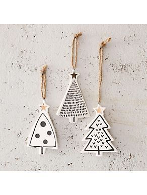 DIY star pendant with gold – tinker Christmas tree pendant