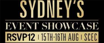 Australian Business Events Expo and The Sydney Event Showcase. 15-16 August, 2013.