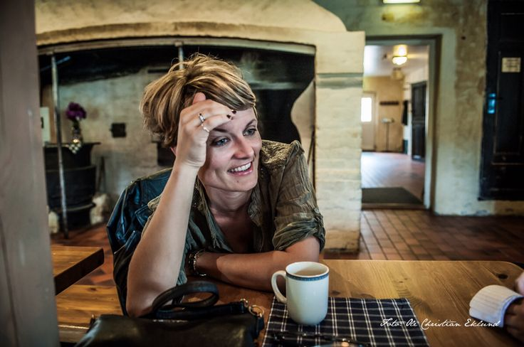 En morsom dame. Pernille Sørensen