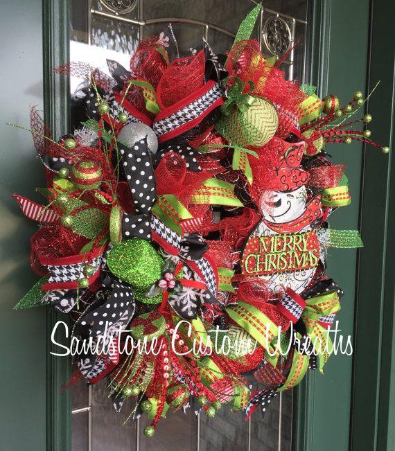 Guirnalda de la Navidad guirnalda de la Navidad del muñeco de