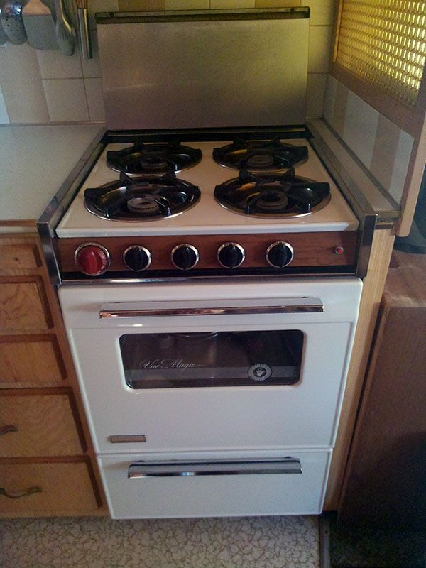 Magic Chef Electric Cooktop ~ Vintage trailers for sale full size sheets and