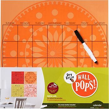 Dry Erase Month Squares    this needs to come in blue or green a.k.a. boy colors. the boyfriend needs a calendar