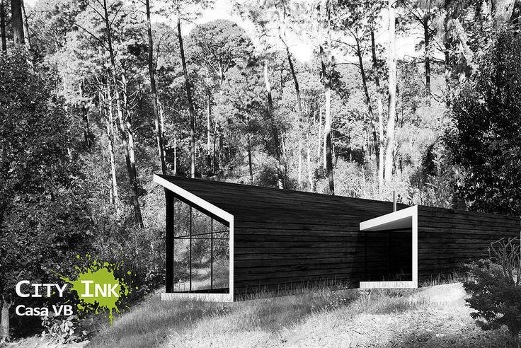 Busca imágenes de diseños de space estilo }: Cabaña vista posterior. Encuentra las mejores fotos para inspirarte y y crear el hogar de tus sueños.