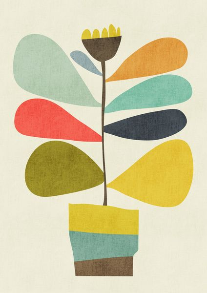 Potted plant Art Print by Budi Satria Kwan | Society6