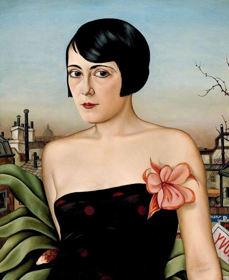 CHRISTIAN SCHAD. Miss Moss. 1929.