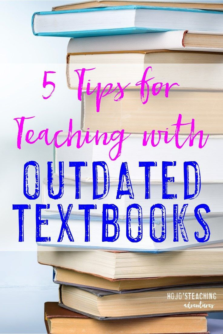 Are you using outdated textbooks in your classroom? Regardless of what grade level you teach, this blog post will give you five realistic ideas you can use today to help you out with your outdated texts! Click through to learn more today!