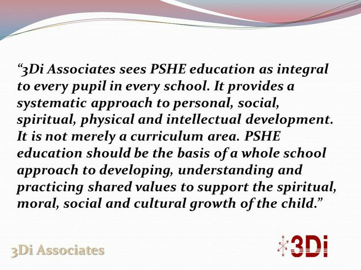 What is PSHE Education? - http://wp.me/p1YZsx-V