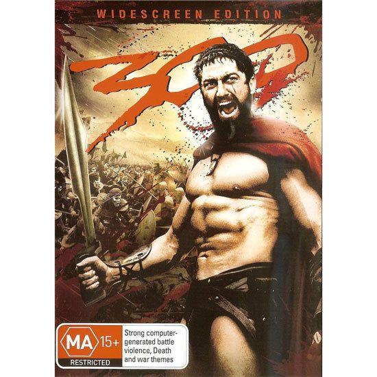 300 DVD Brand New Region 4 Aust. - Gerard Butler Director Frank Miller