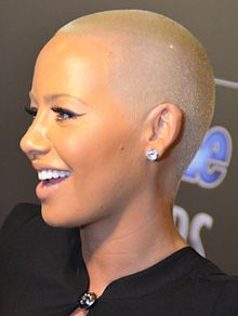 Amber Rose (1983- )- 2014 People Magazine Awards (cropped).- professionally known as Amber Rose, is an American hip hop model, hip hop artist, fashion designer and actress.