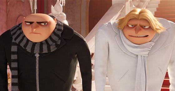 CATTIVISSIMO ME 3 nel nuovo trailer italiano incontriamo il fratello gemello di Gru