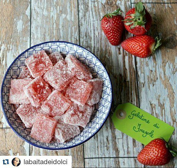 @labaitadeidolci ha fatto in casa le gelatine di frutta #senzalattosio! Che idea simpatica per bambini e non solo  by lattosiono