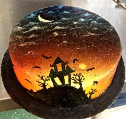 halloween cake by cakesbyjackie cakesdecorcom cake decorating website