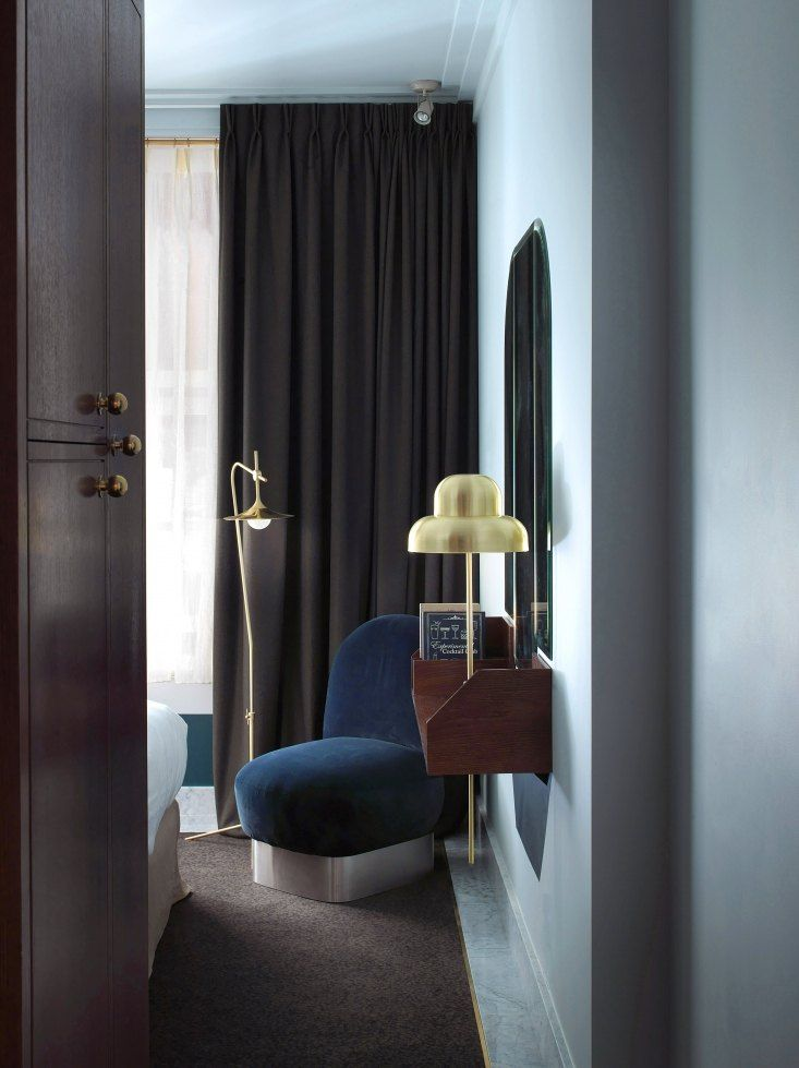 henrietta-hotel-guest-room-london, dorothee melichzon design. Paul Boyer photo.
