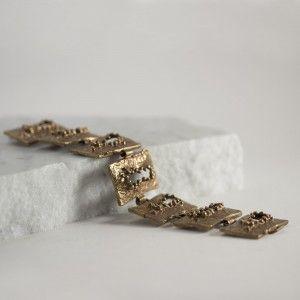 Bronze 1970s bracelet