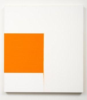 Callum Innes, Exposed Painting Cadmium Orange