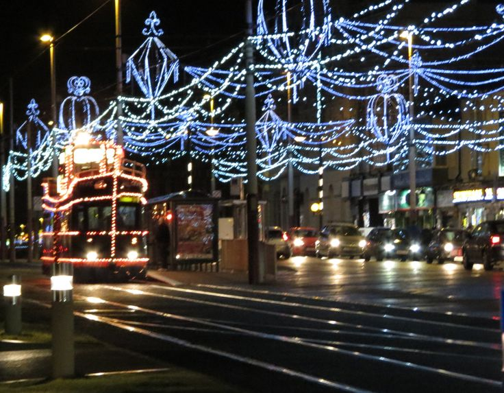 Blackpool Illuminations - brings back childhood memories!